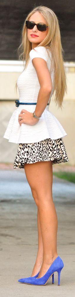 Nice Mini Skirt and Belt