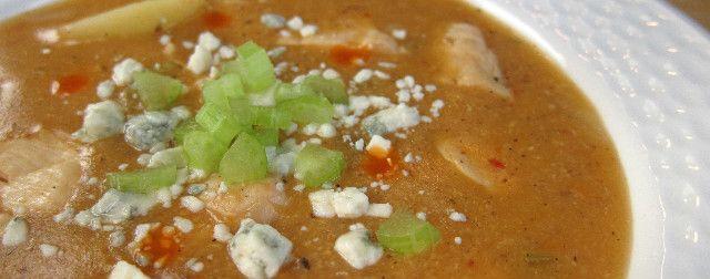 hot twist on an old classic – Buffalo Chicken Chowder!