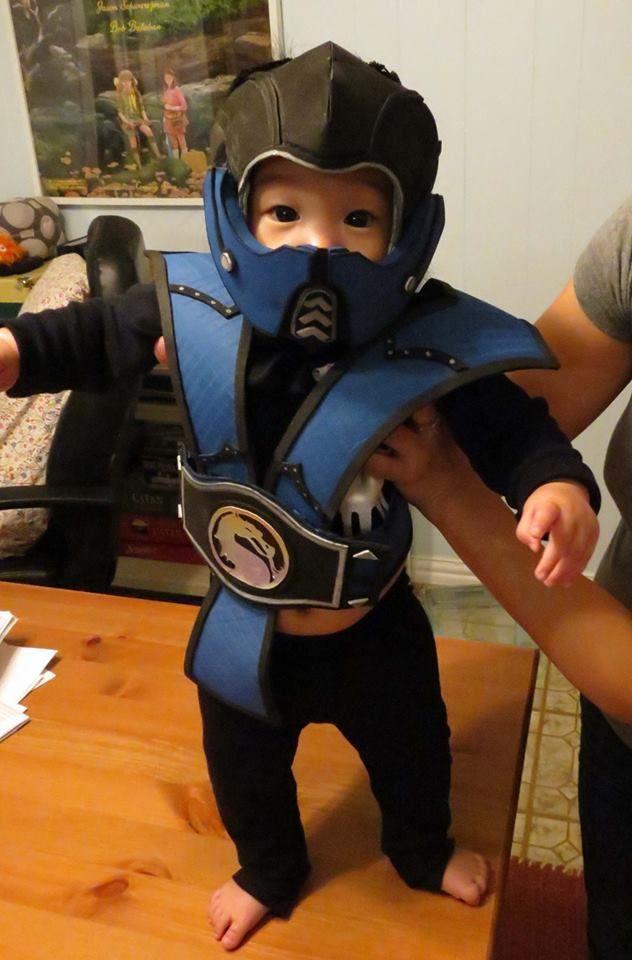 Mortal kombat halloween costumes for kids