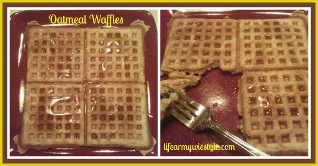 oatmeal waffles recipe! | yumo | Pinterest