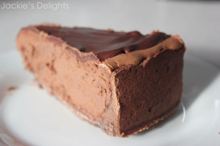 triple chocolate cheesecake.2 | Cheesecake | Pinterest