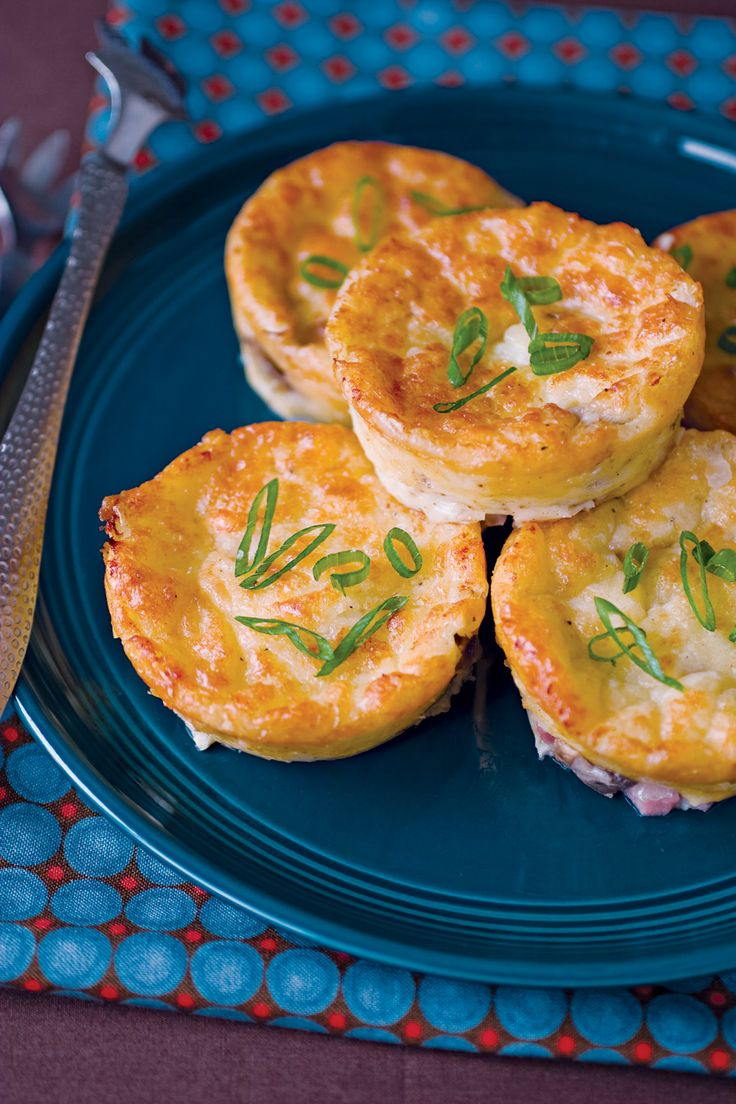 Crustless Mini Quiches | Recipe