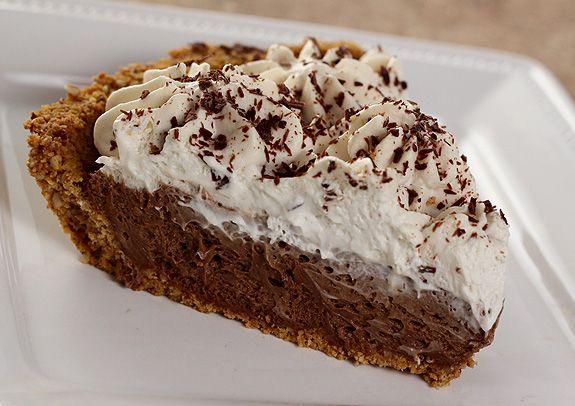 French Silk Pie with Graham Cracker Crust, Espresso and Kahlua | Reci ...