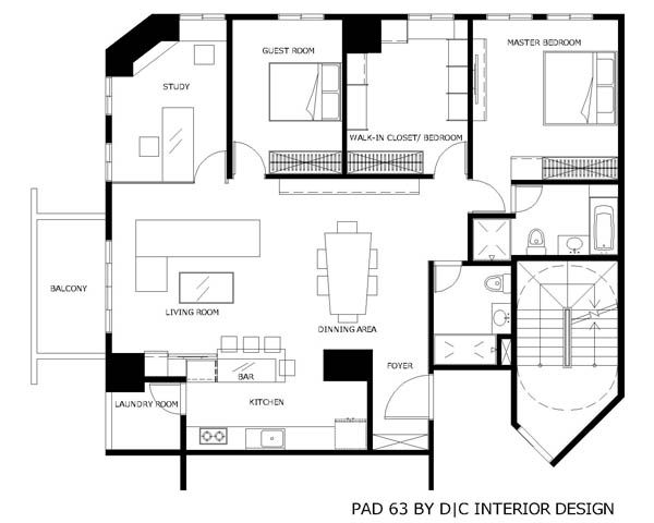 modern house design with fortable interior ideas