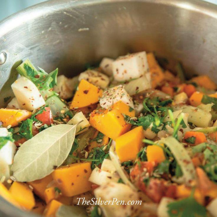 Italian Vegetable Stew Recipe — Dishmaps