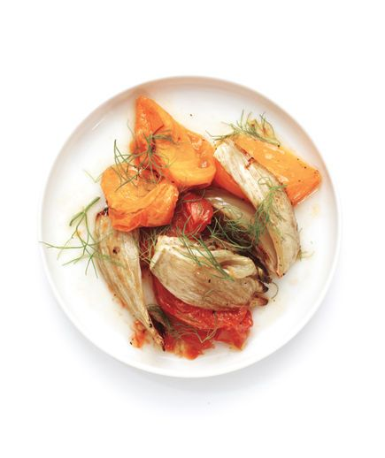 Roasted Tomatoes and Fennel The fennel's licorice-like flavor becomes ...