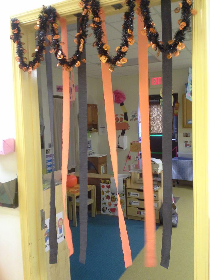 Classroom Halloween door decorations  My Classroom  ~ 223105_Halloween Door Decorations Classroom