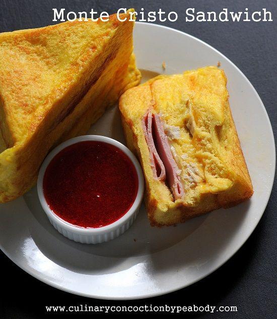 Monte Cristo Sandwich Culinary Concoctions by Peabody