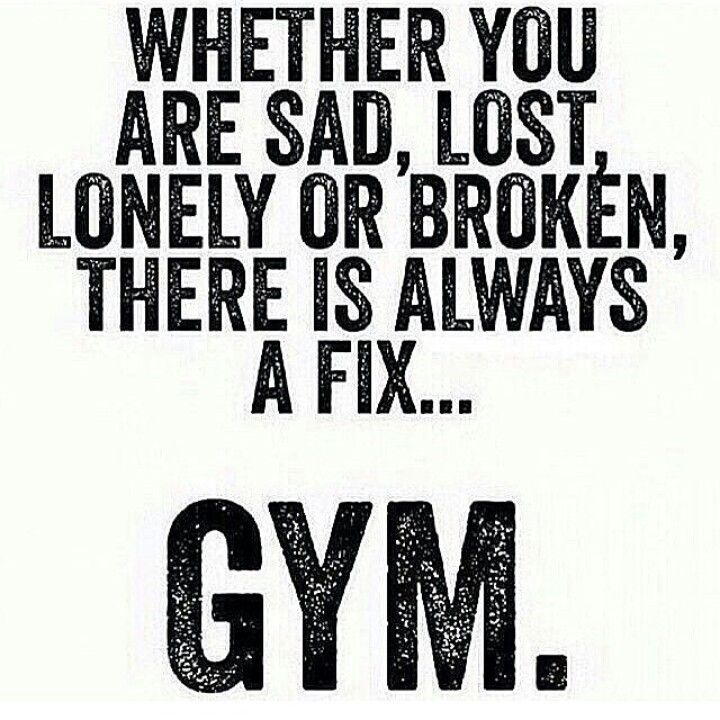 Gym Therapy Quotes Quotesgram