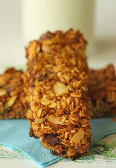 Half Baked: pumpkin granola bars | yums | Pinterest