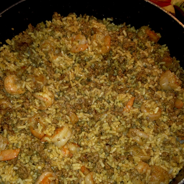 Dirty rice with shrimp | Mmmm! | Pinterest