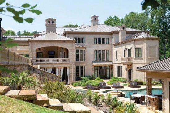 Inside Hines Ward S Atlanta Dream House Dream Homes