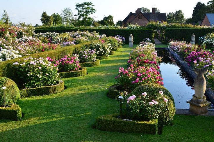 Beautiful formal rose garden gardening roses pinterest for Formal rose garden layout