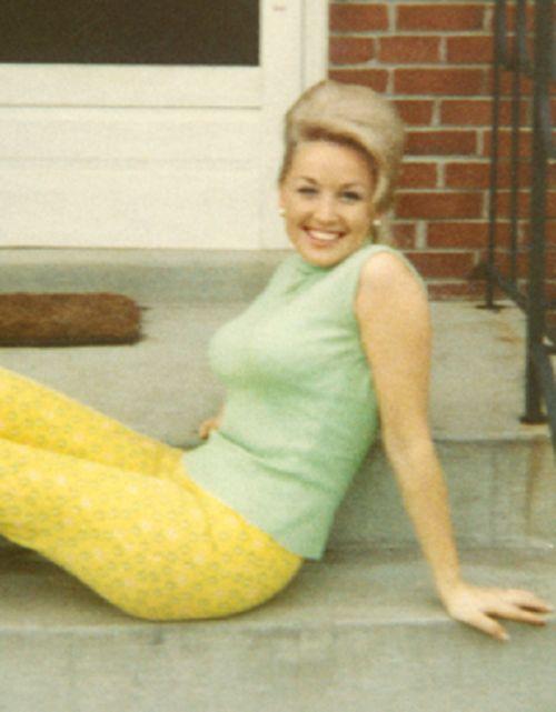 Dolly Parton Natural Hair