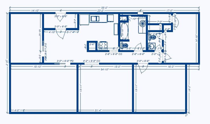 Barndominium floor plans 30x50 joy studio design gallery for 40x60 apartment plans