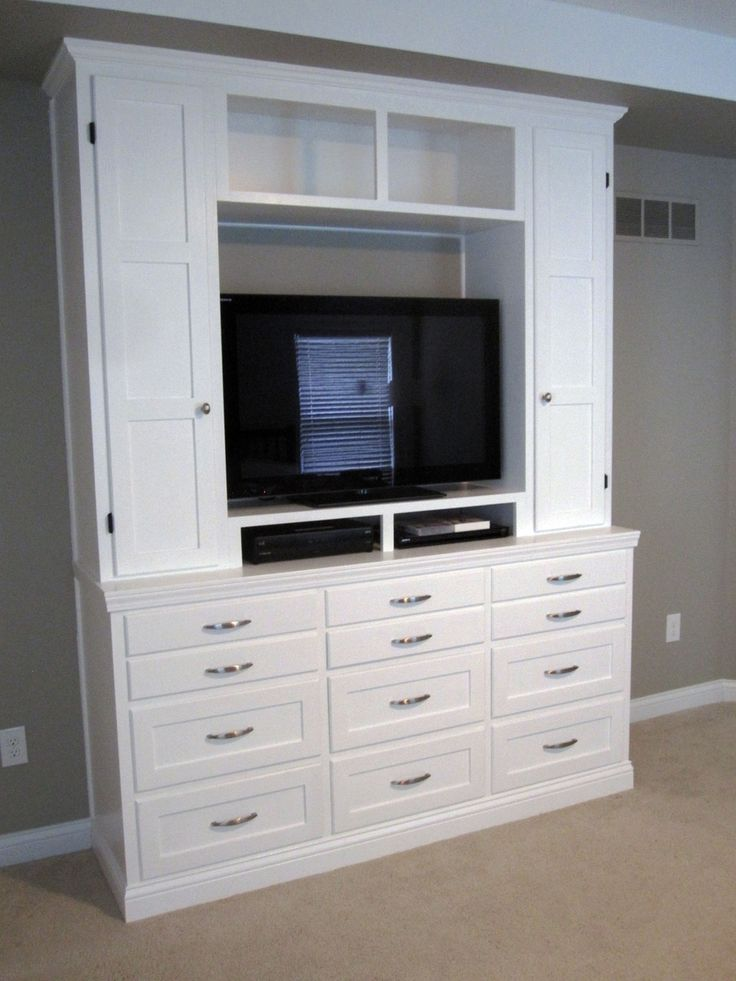 Bedroom Dresser Entertainment Center Crafts Project