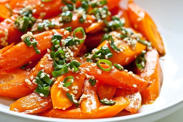 Steamed Green Beans And Carrots With Charmoula Sauce Recipes ...