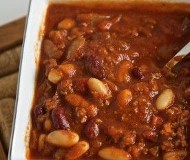 Spicy Chili   Soups   Pinterest