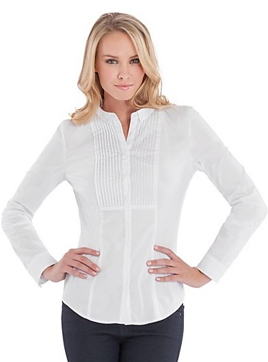 Fabiana Long-Sleeve Shirt | GUESS.ca | My Style | Pinterest