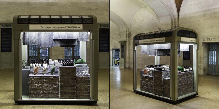 Aesop Kiosk by Tacklebox, New York