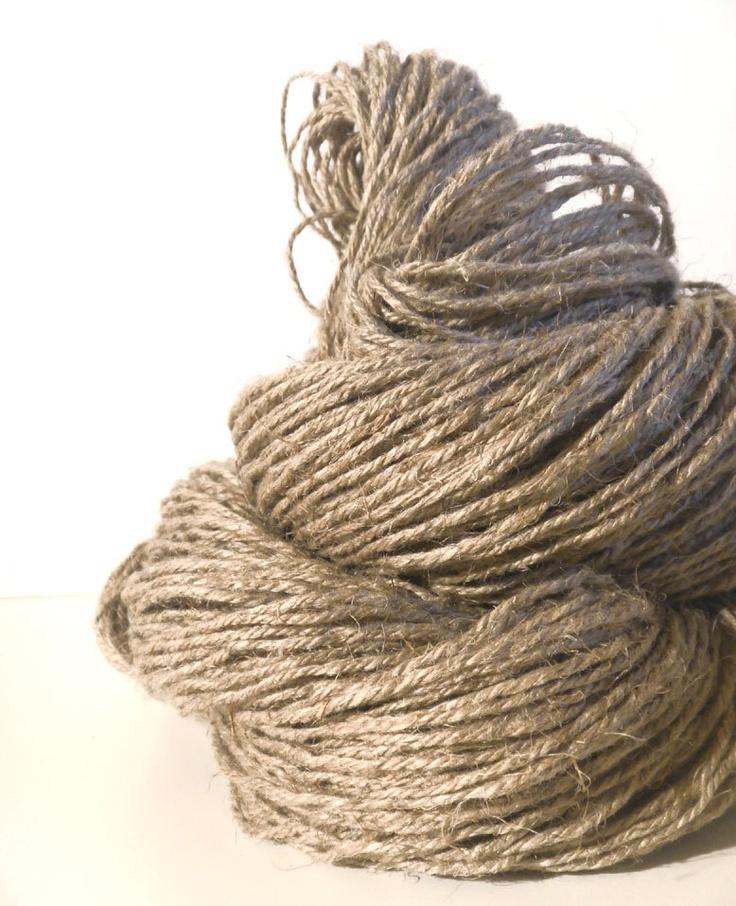 Linen Yarn : organic pure un-dyed linen yarn textiles Pinterest