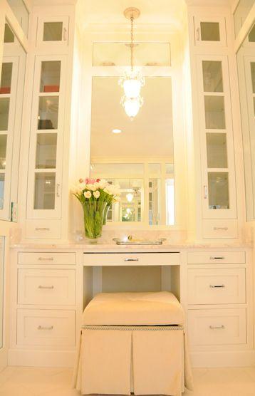 Built in vanity