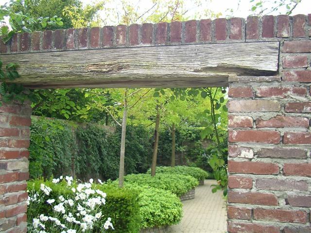 Lebbink tuinen - tuin met een muurtje  Tuin ideeën  Pinterest