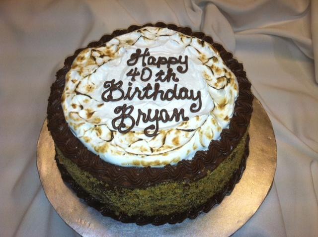 Mores cake