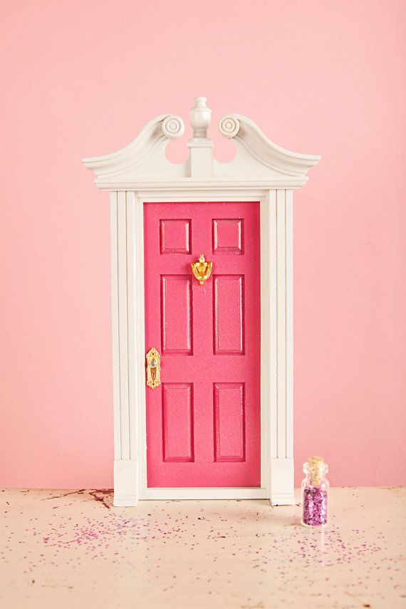 Tooth fairy door deluxe edition fully customizable for for Tooth fairy door
