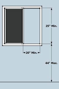 Egress Window Requirements Ingenius Ideas Pinterest