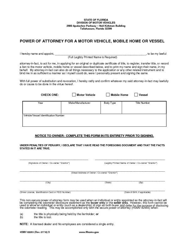 Pin By Sample Legal Forms On Power Of Attorney Form