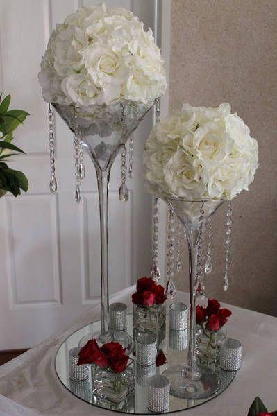 Wedding Centerpiece Reception Sites Pinterest