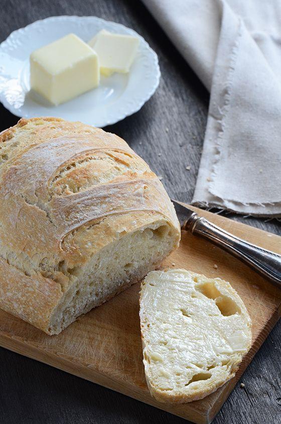 ... ... Just made this last night. It's SOOOOOOO good. No-knead bread