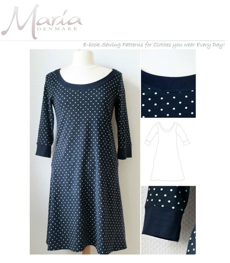 knit dress pattern- womens Sewing Pinterest