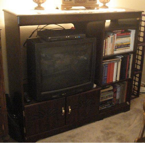 Entertainment center in mizredd 39 s garage sale mesquite tx for 18 ft garage door for sale