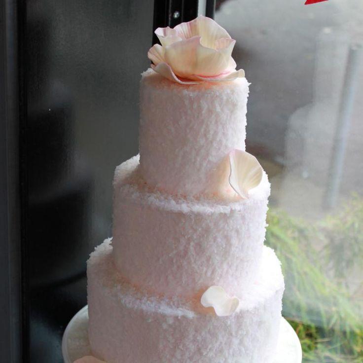 Coconut Cloud Wedding Cake