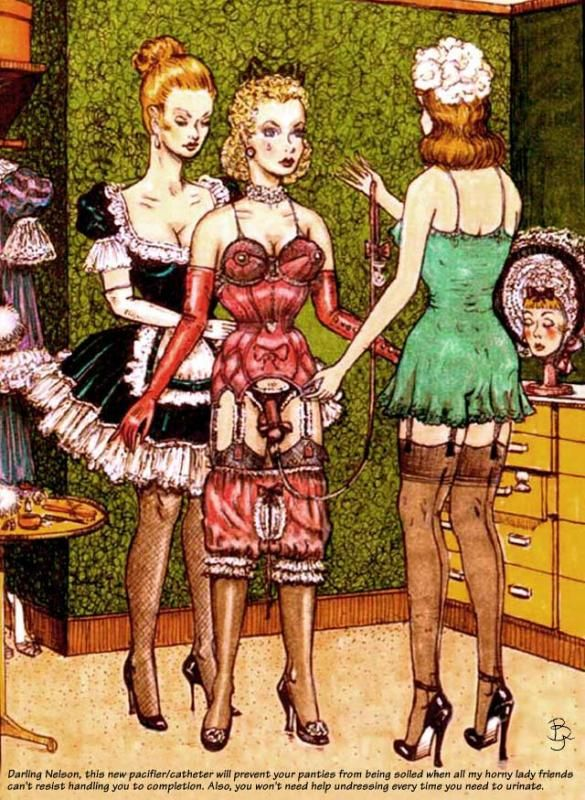 HugoBlack The World of Prissy Sissy