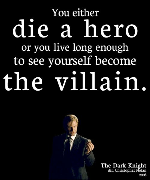 Knight Tattoo Quotes: The Dark Knight.