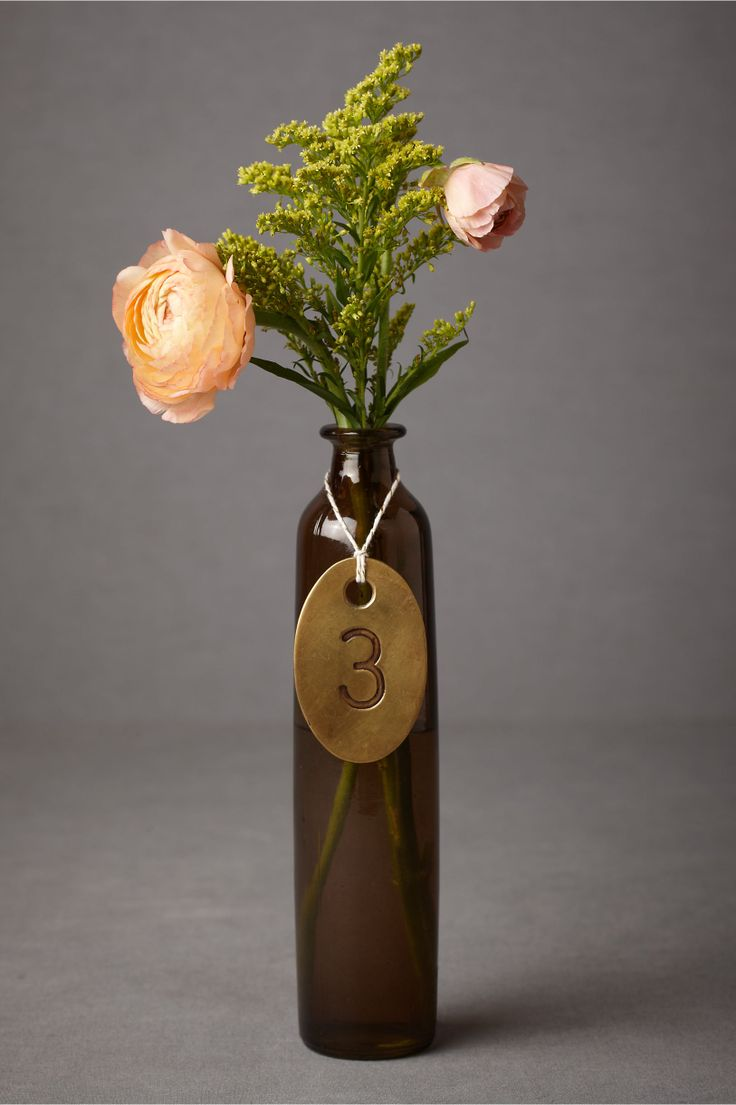 Antique Brass Tags in SHOP Décor Signage at BHLDN