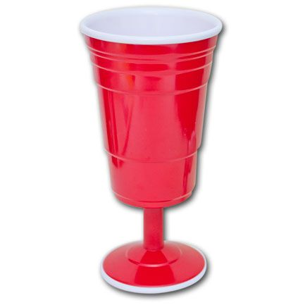 Red Solo Cup Wine Glass Rocks The Casbah Pinterest