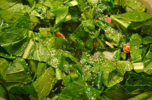 Bacon-Braised Turnip Greens! Use turnip, collard, mustard green ...