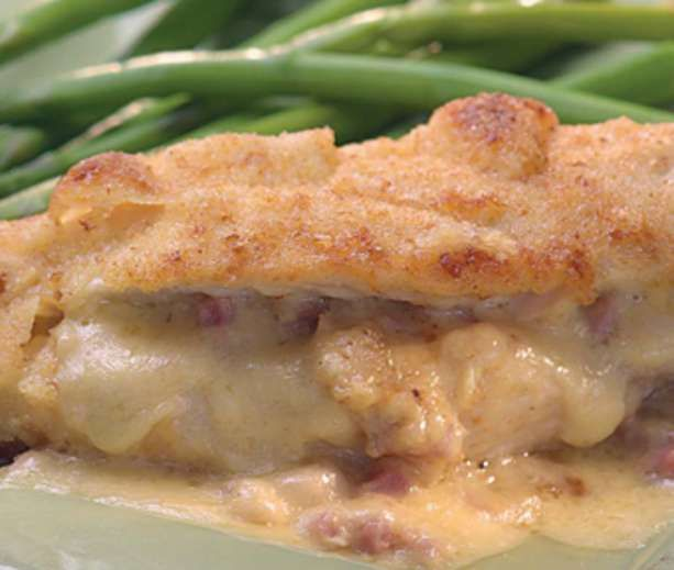 Ham-&-Cheese-Stuffed Chicken Breasts from Blue Ribbon Diabetic Connect ...