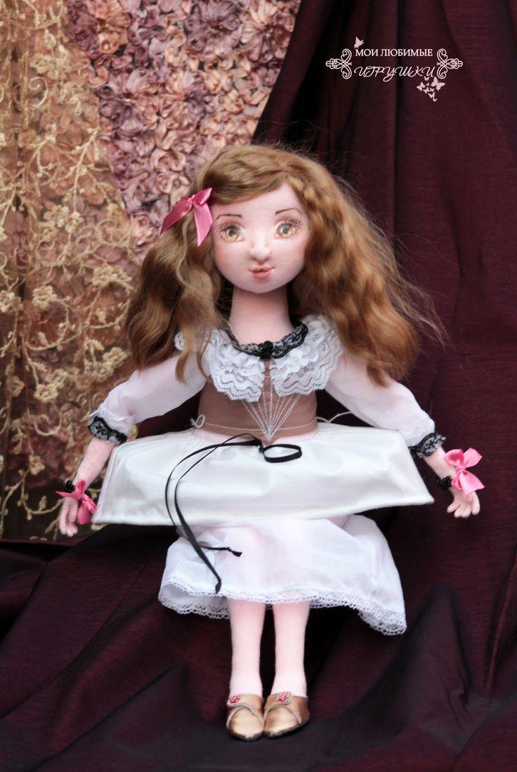 Кукла повар  выкройка 3