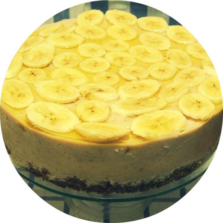 Банановый торт без выпечки с фото