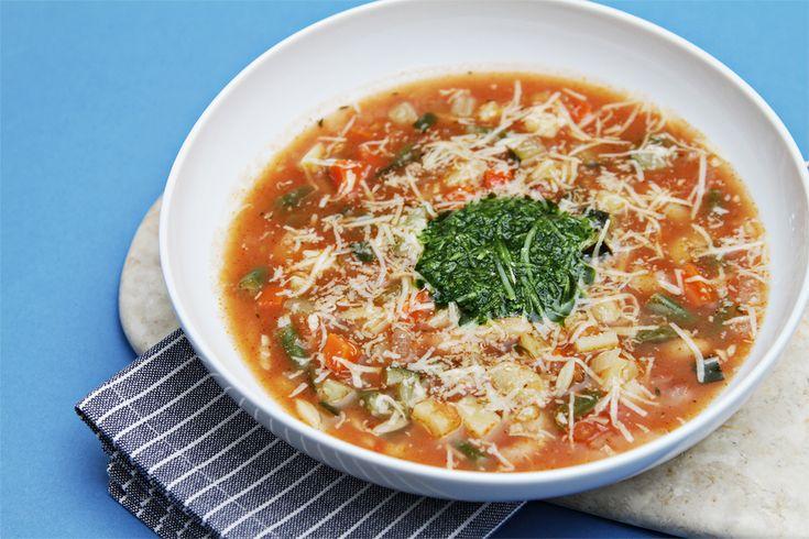 Soupe au Pistou (Provençal Vegetable Soup with Basil Sauce) - The ...