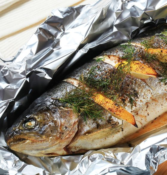 Pin by simone brennan on motivation fitness pinterest for Grill fish in foil