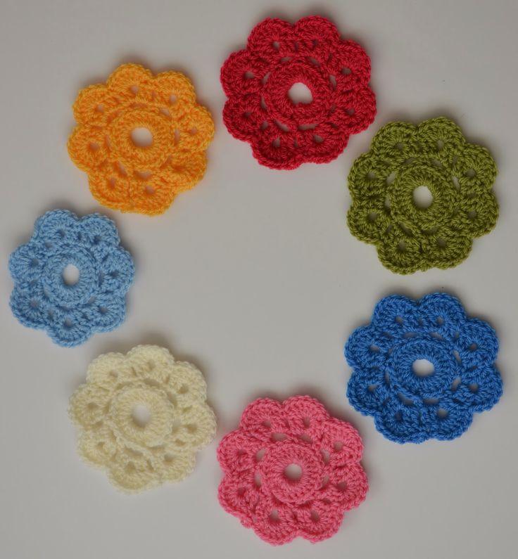 Tadpegs: Maybelle Flowers | Crochet - Flowers | Pinterest