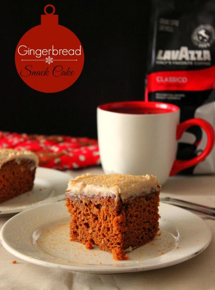 Gingerbread Snack Cake | Cake | Pinterest