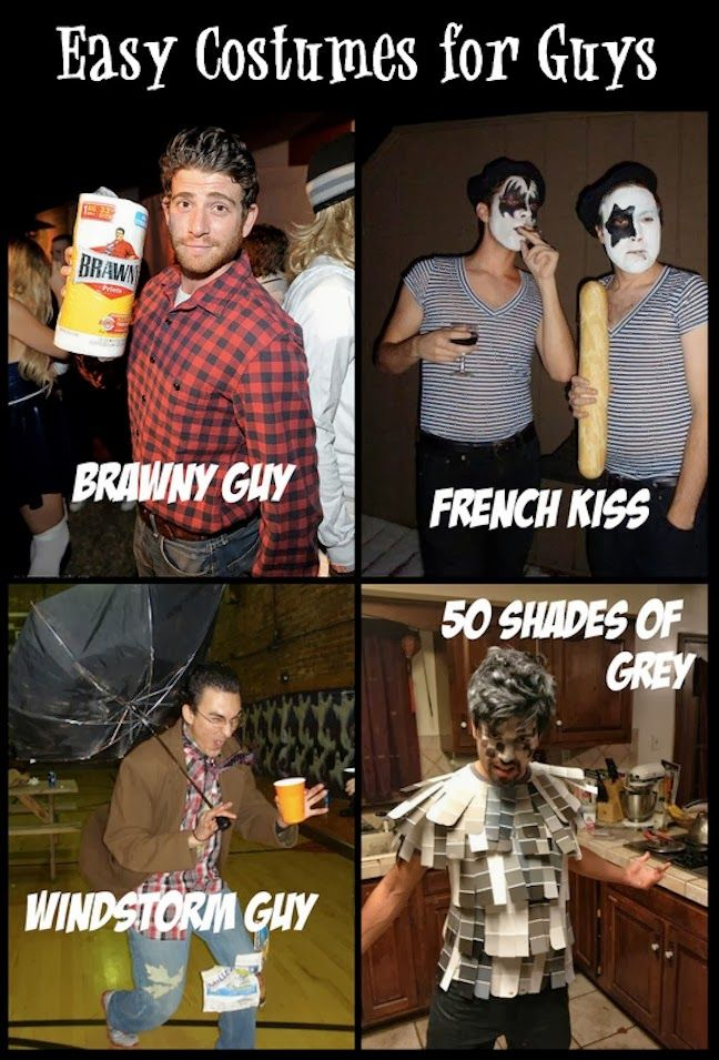 Pin by Laura Midkiff on Halloween Pinterest - Simple Halloween Costumes For Guys