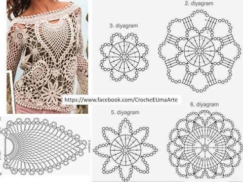 Facebook Crochet pattern Pinterest